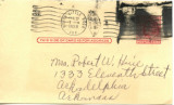 1958-02-22 Postcard to Mrs. Huie